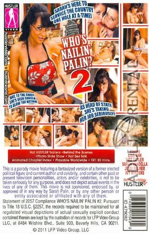 Who's Nailin' Palin 2 Porn Video Art