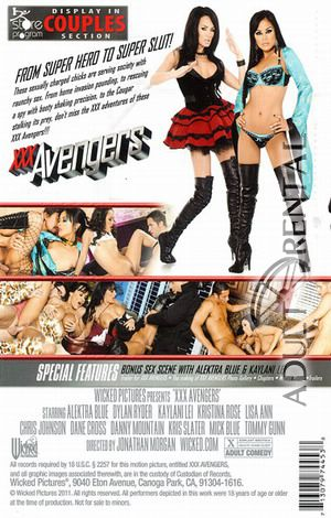 XXX Avengers Porn Video Art