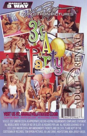 3's A Party Porn Video Art