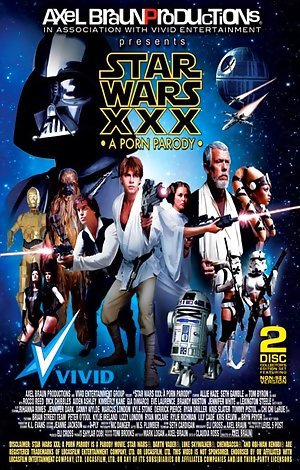 Star Wars XXX: A Porn Parody - Disc #2 Porn Video Art