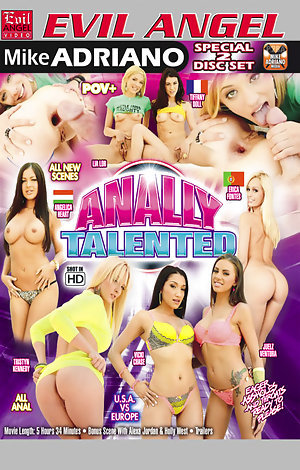 Anally Talented - Disc #1 Porn Video Art