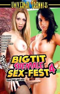 Big Tit Shemale Sex Fest #4