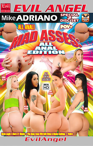 Mad Asses: All Anal Edition - Disc #1 Porn Video Art