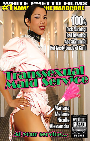 Transsexual Maid Service Porn Video