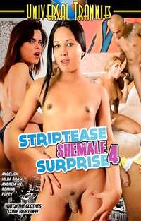 Striptease Shemale Surprise #4