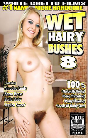 Wet Hairy Bushes #8  Porn Video Art
