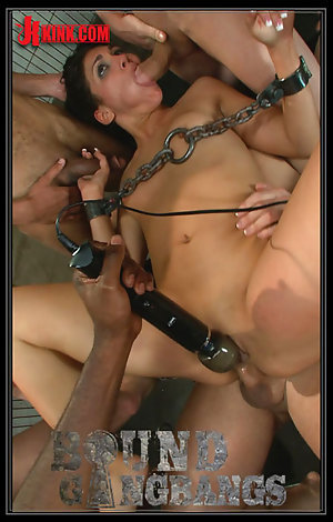 Bound Gangbangs - Jade Indica Porn Video Art