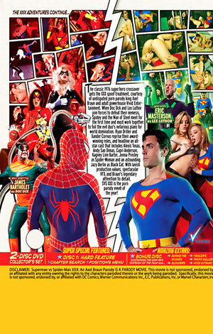 Superman Vs Spider-Man XXX: An Axel Braun Parody - Disc #2 (Bonus) Porn Video Art