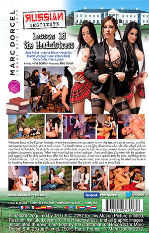 Russian Institute: Lesson #18 - The Headmistress Porn Video Art