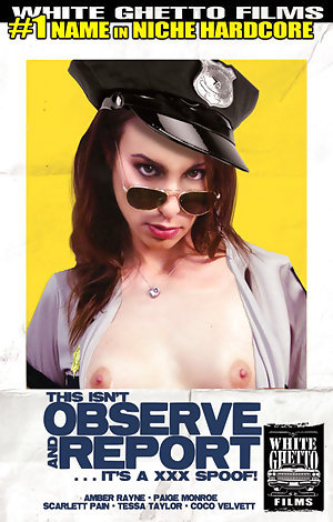 This Isn't Observe and Report...It's A XXX Spoof  Porn Video Art