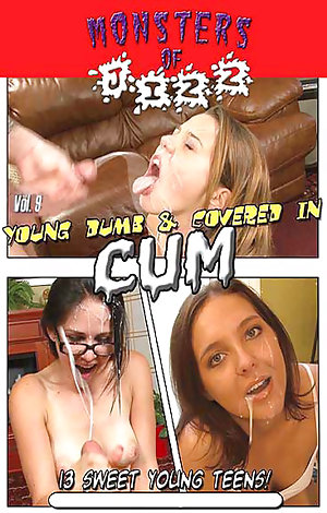 Monsters of Jizz #9 - Young Dumb and Covered in Cum Porn Video
