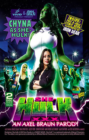 She-Hulk XXX: An Axel Braun Parody - Disc #1 Porn Video Art