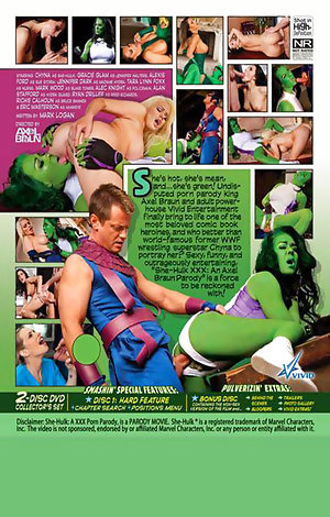 She-Hulk XXX: An Axel Braun Parody - Disc #2 - Extras Porn Video Art
