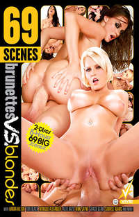 69 Scenes: Brunettes Vs Blondes - Disc #2 | Adult Rental