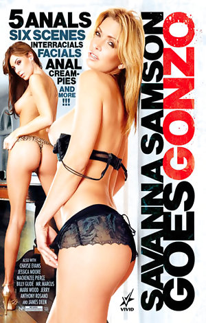 Savanna Samson Goes Gonzo  Porn Video Art