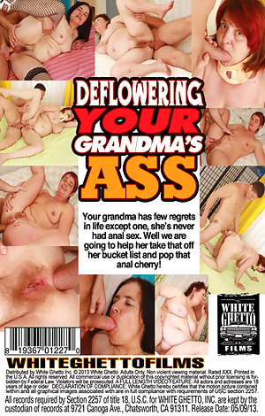 Deflowering Your Grandma's Ass  Porn Video Art