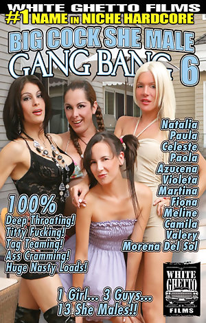 Big Cock She Male Gang Bang #6  Porn Video Art