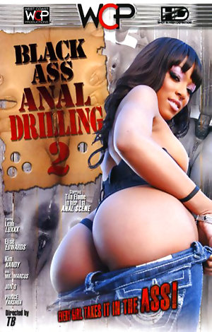 Black Ass Anal Drilling #2  Porn Video