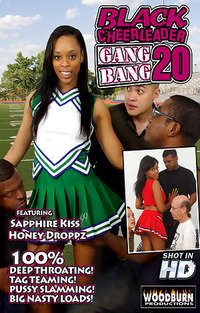 Black Cheerleader Gang Bang #20