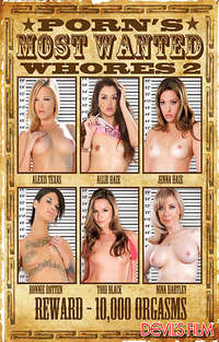 Porn's Most Wanted Whores #2