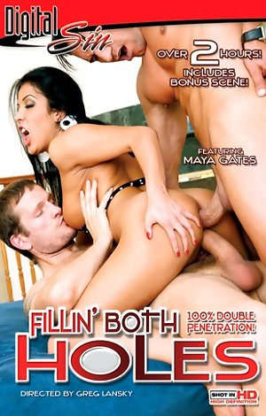 Fillin' Both Holes Porn Video Art