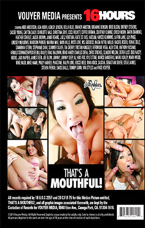 That's A Mouthful - Disc #2 Porn Video Art