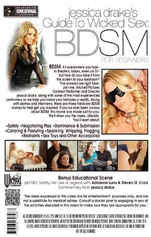 Jessica Drake's Guide to Wicked Sex - BDSM for Beginners Porn Video Art
