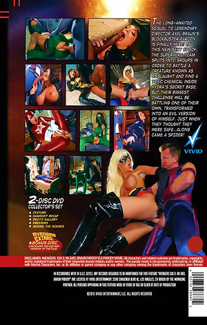 Avengers #2 - An Axel Braun Parody - Disc #2 (Behind The Scenes) Porn Video Art