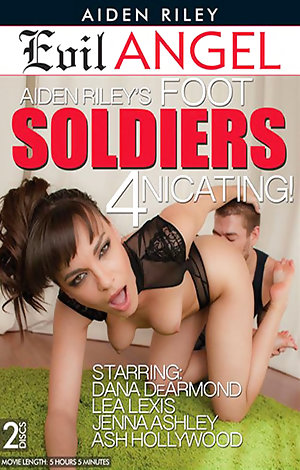 Aiden Riley's Foot Soldiers 4nicating!  - Disc #1 Porn Video Art