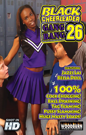 Black Cheerleader Gangbang #26 Porn Video Art