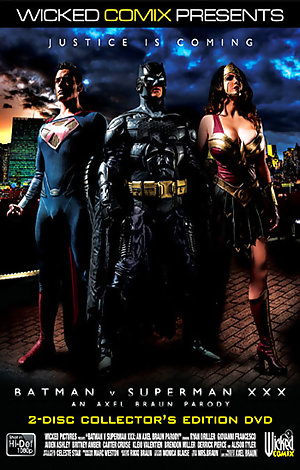 Batman Vs. Superman XXX: An Axel Braun Parody - Disc #1 Porn Video Art