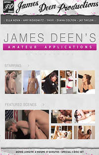 James Deen's Amateur Applications - Disc #1 | Adult Rental