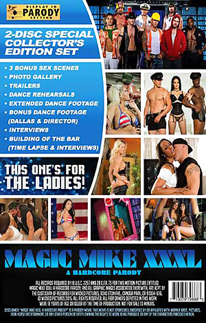 Magic Mike XXXL - A Hardcore Parody Porn Video Art