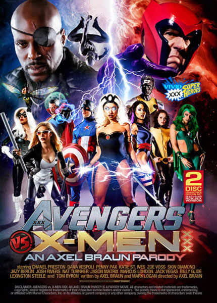 Avengers Vs X-Men: An Axel Braun Parody Porn Video Art