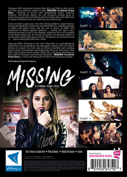 Missing - A Lesbian Crime Story Porn Video Art