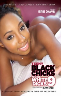 Teeny Black Chicks Trying White Dicks #9