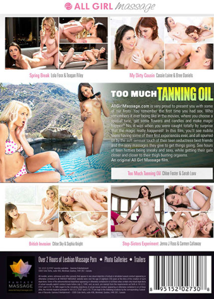 Too Much Tanning Oil  Porn Video Art