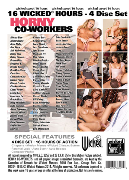 Horny Co-Workers  - Disc #4 Porn Video Art