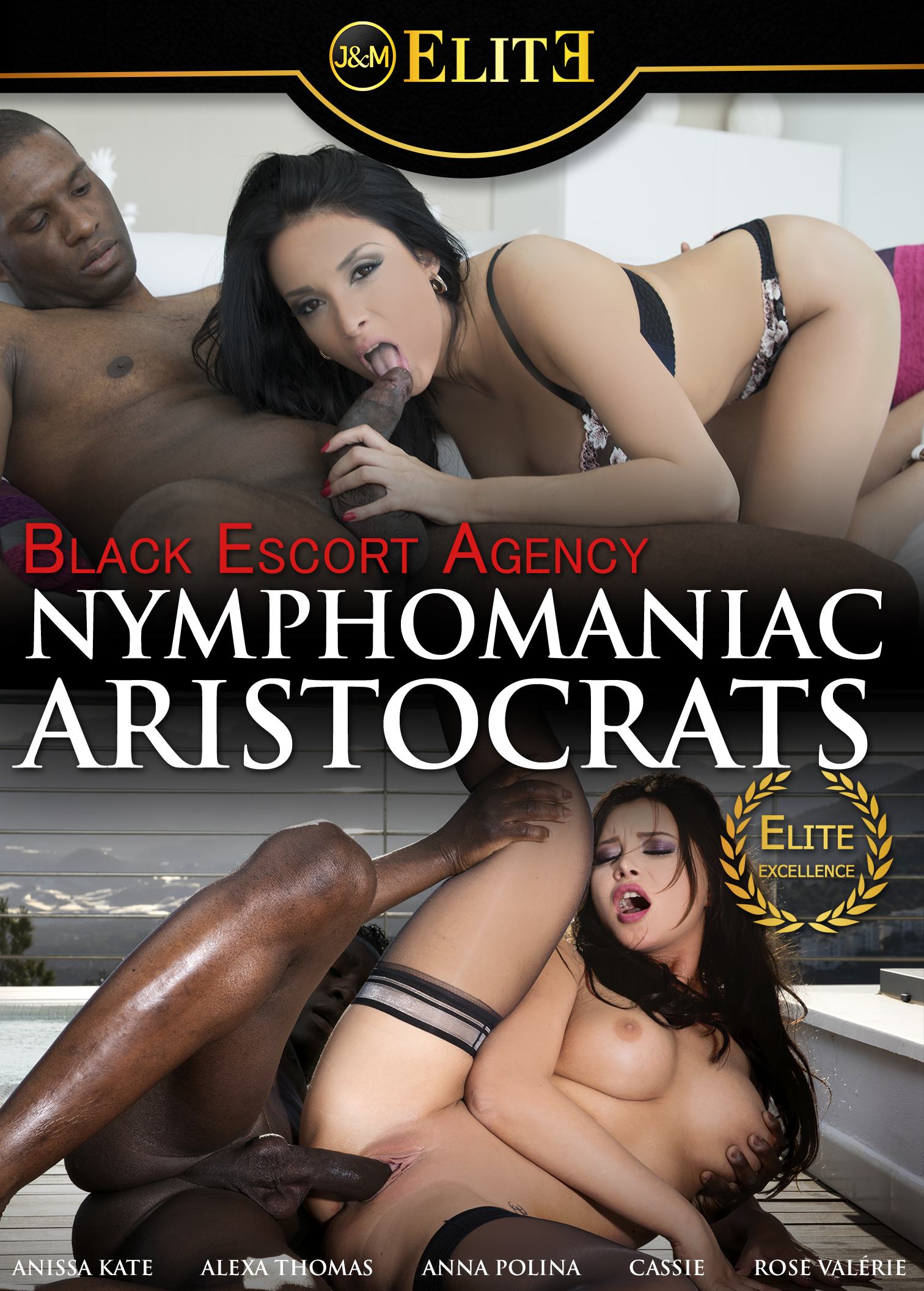 Black Escort Agency - Nymphomaniac Aristocrats Porn Video