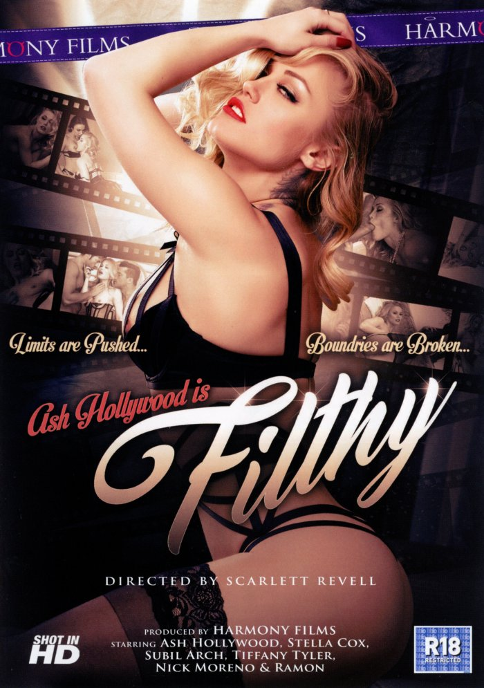 Ash Hollywood is Filthy Porn Video Art
