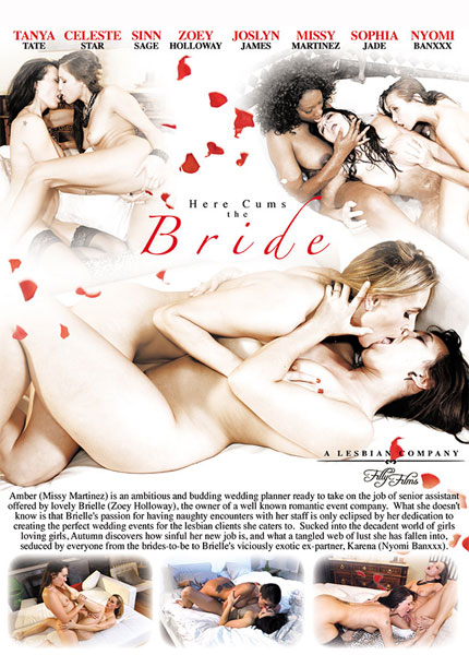 Here Cums the Bride Porn Video Art