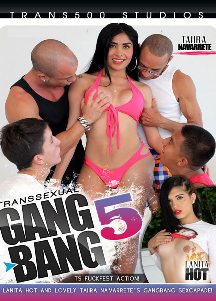 Transsexual Gangbang #5 Porn Video