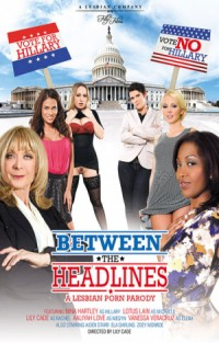 Between The Headlines - A Lesbian Porn Parody | Adult Rental