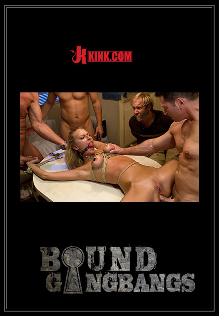 Bound Gangbangs - Riley Evans Porn Video Art