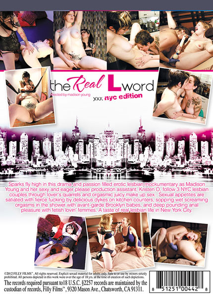 The Real L Word XXX - NYC Edition Porn Video Art