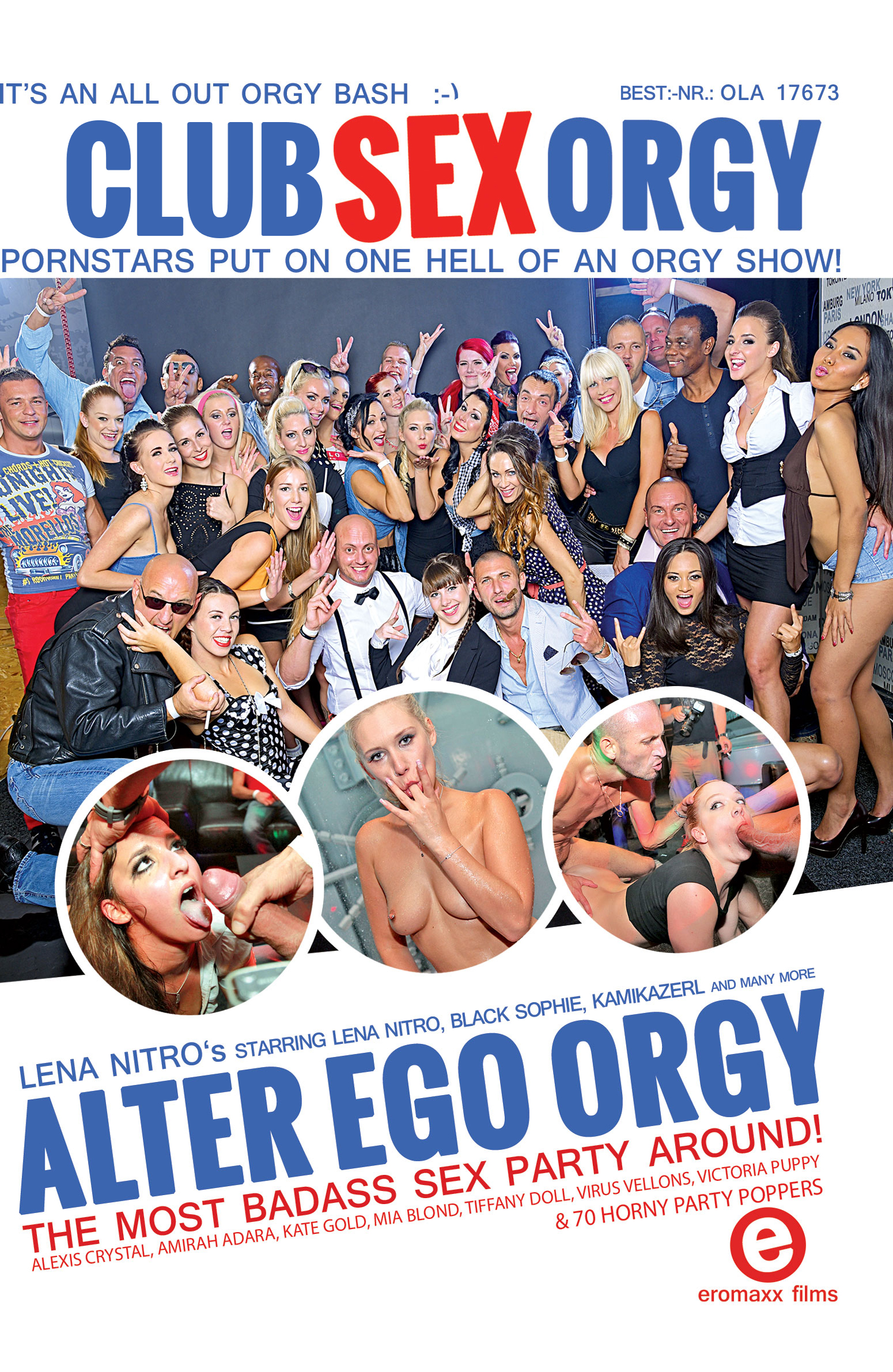 Club Sex Orgy - Alter Ego Orgy Porn Video Art