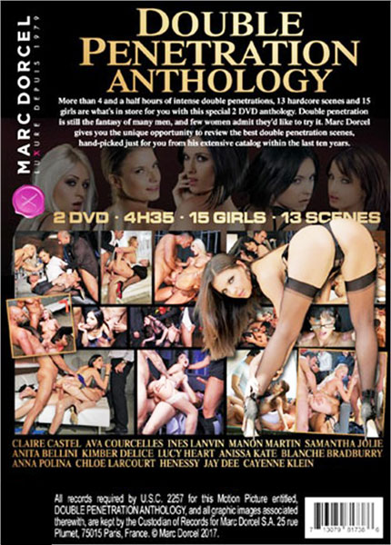 Double Penetration Anthology - Disc #1 Porn Video Art