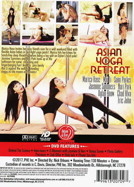 Asian Yoga Retreat Porn Video Art