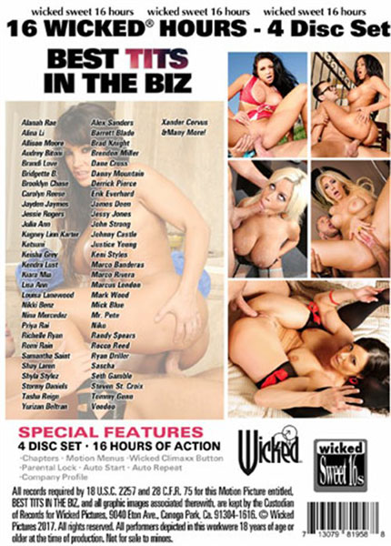 Best Tits in The Biz - Disc #4 Porn Video Art