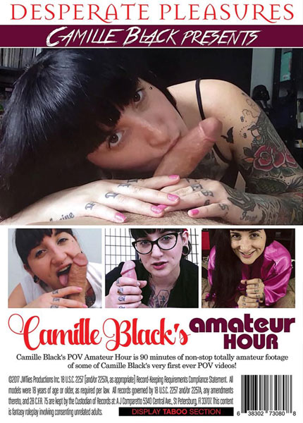 Camille Black's Amateur Hour Porn Video Art